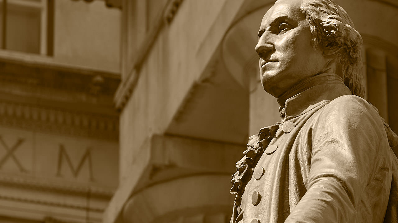 Visions of America section image: George Washington