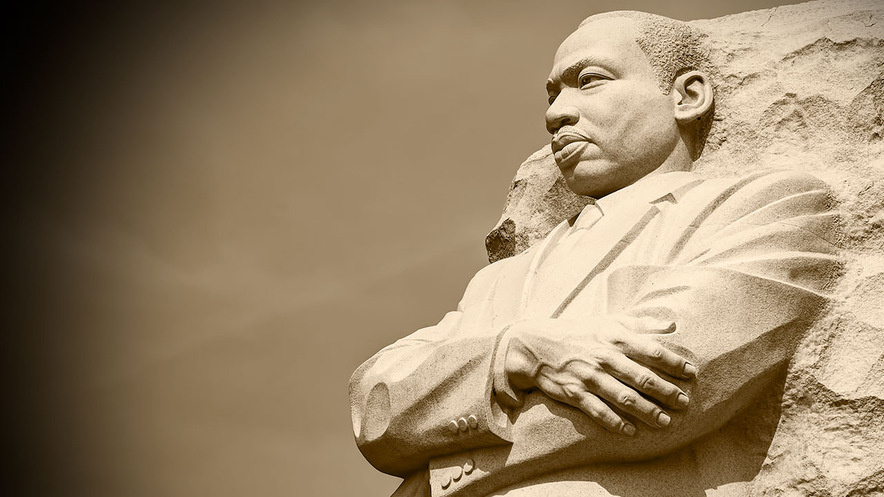 Visions of America section image: Martin Luther King